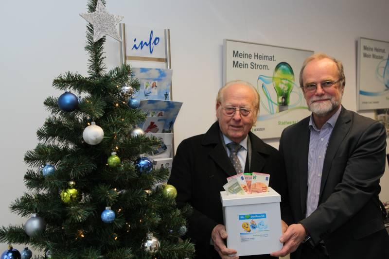 Großer Losverkauf zugunsten des Seniorenfördervereins Quelle: Stadtwerke Lohmar