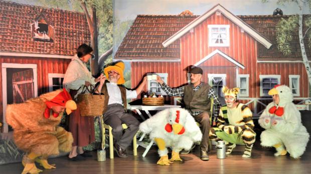 """Kindertheater """"Pettersson und Findus"""" Quelle: Stadt Hennef"""