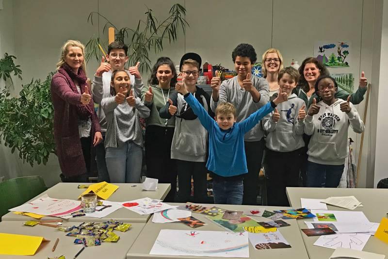 Jugendforum im Projekt 8sam! gegründet Quelle: Stadt Sankt Augustin