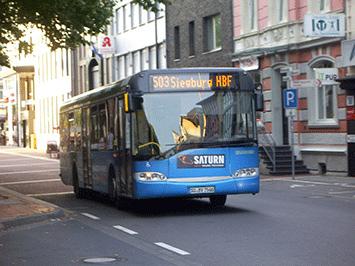 Längere Fahrzeiten einplanen – Busse werden umgeleitet Quelle: Stadt Siegburg