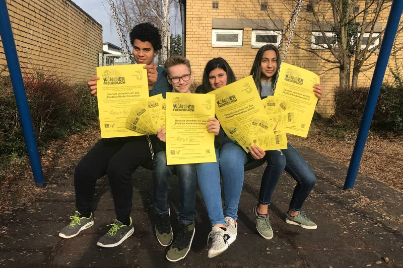 """Aktion """"Prädikat Kinderfreundlich"""" 2019 startet Quelle: Stadt Sankt Augustin"""