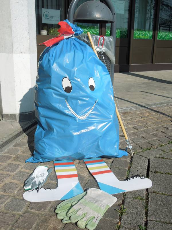 """""""Wir machen dem Müll Beine"""" – Frühjahrsputz in Sankt Augustin Quelle: Stadt Sankt Augustin"""