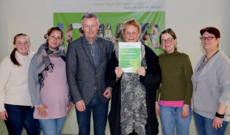 Ehrenamt des Monats Februar: TARA-Tierhilfe e. V. Quelle: Stadt Lohmar
