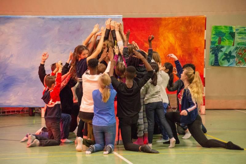 Talentcamp förderte Kreativität Quelle: Stadt Hennef