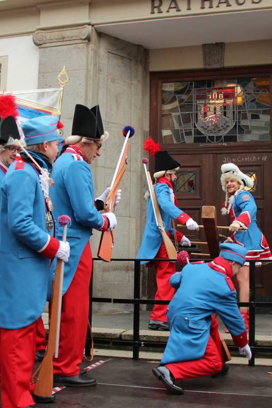 Rathauserstürmung 2019 Quelle: Stadt Hennef