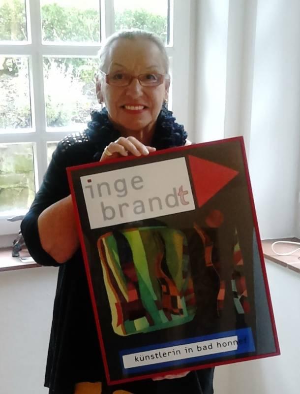 """Inge Brandt: """"kunsTRÄUME"""" – Malerei, dekorative Malerei, Illustrationen Quelle: Vereins zur Förderung von Kunst & Kultur in Bad Honnef e.V."""