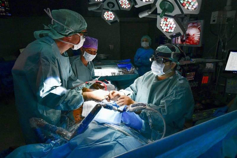 Minimalinvasive Herzchirurgie im Helios Klinikum Siegburg Quelle: Helios