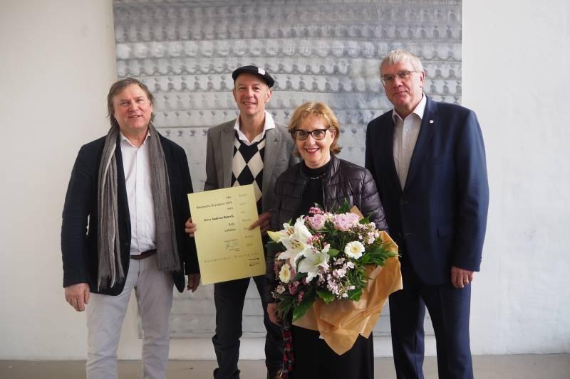 Rheinischer Kunstpreis 2018 für Andreas Bausch –  Preisübergabe und Ausstellungseröffnung im Pumpwerk Quelle: Rhein-Sieg-Kreis