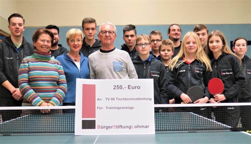 Tischtennis-Jugend unter neuem Label Quelle: BürgerStiftungLohmar