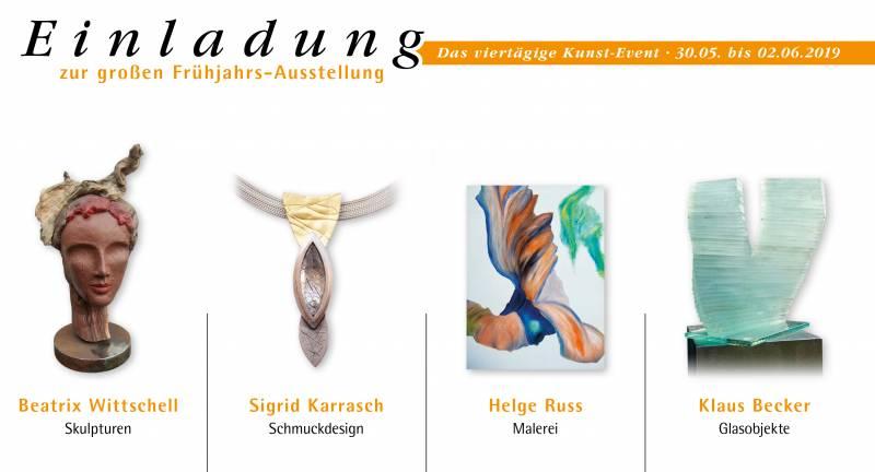 Große Frühjahrs-Ausstellung im Schloss Allner in Hennef Quelle: Schlossatelier des Schloss Allner