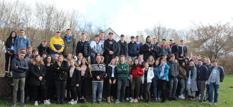 Schüler der Freien Christlichen Gesamtschule in Siegburg auf Orientierungstagen im Westerwald Quelle: VCS - Verein Christlicher Schulen Rhein-Sieg e.V.