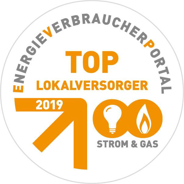 Stadtwerke Lohmar: 2019 TOP-Lokalversorger für Strom und Gas Quelle: Stadtwerke Lohmar