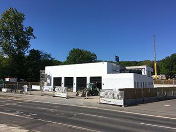 Neues Feuerwehrhaus bekommt Anschlüsse Quelle: Stadt Siegburg