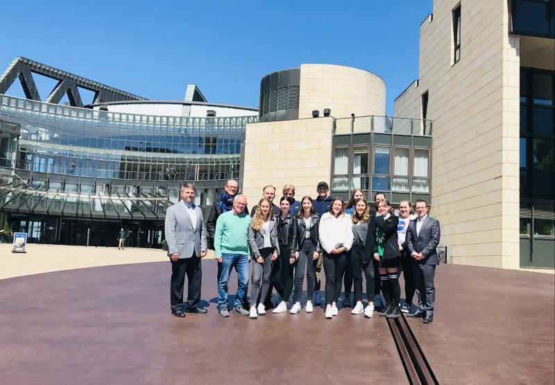 Jugendbildungsprogramm der Sparda-Bank mit dem Anno-Gymnasium in Siegburg ein voller Erfolg Quelle: Sparda-Bank West