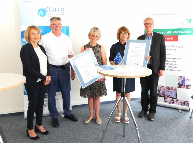 Jugendliche lernen Firma kennen Quelle: Stadt Troisdorf