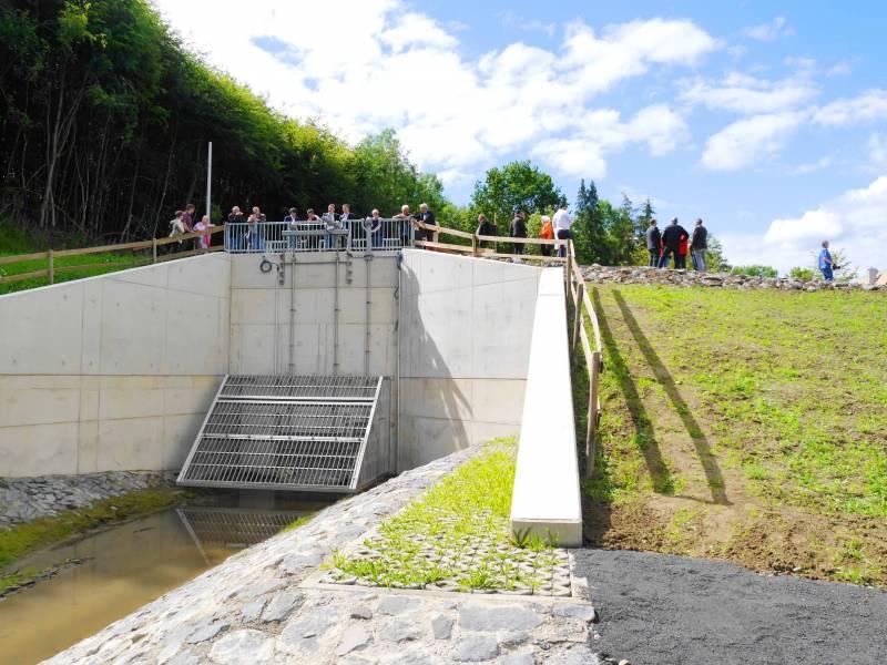 Hochwasserrückhaltebecken Jabach – Feierliche Einweihung Quelle: Stadt Lohmar