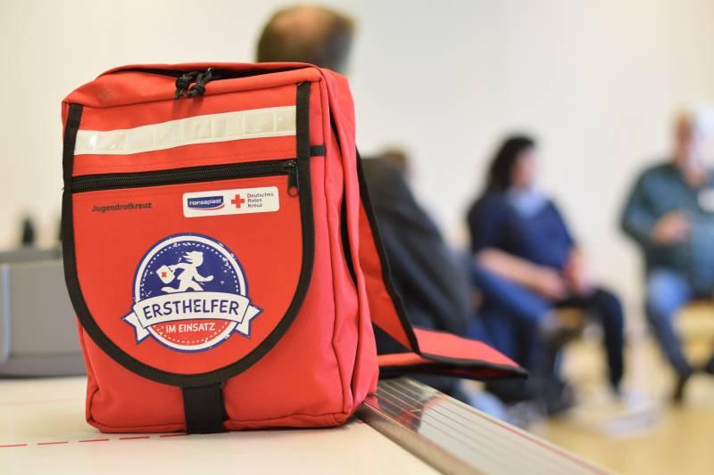 Wenn die Kleinsten schon zu Helfern werden Quelle: Deutsches Rotes Kreuz Landesverband Nordrhein e.V.