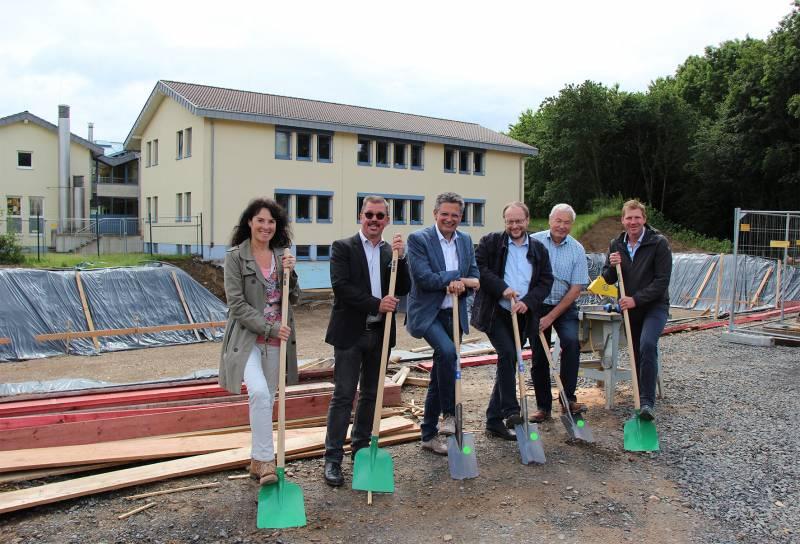 Spatenstich für mehr Platz im Rathaus Quelle: Stadt Hennef