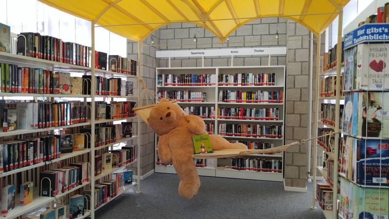 Sommer in der Stadtbibliothek Quelle: Stadt Lohmar