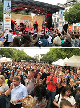 """Tierisch was los bei """"Siegburg Sommer Live"""""""