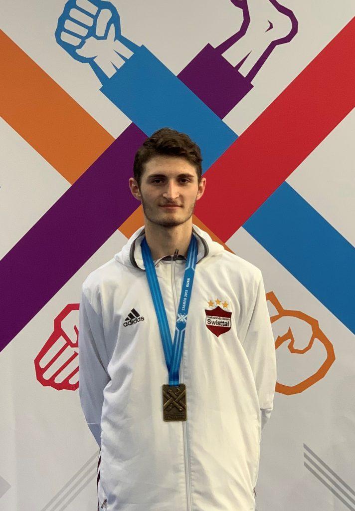 Bronzemedaille bei Europaspielen für Student der Hochschule Bonn-Rhein-Sieg