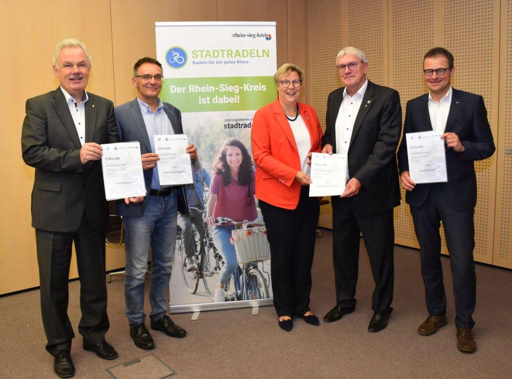 Aktion STADTRADELN toppt Vorjahresergebnis – Hennef neue Fahrradhauptstadt im Rhein-Sieg-Kreis