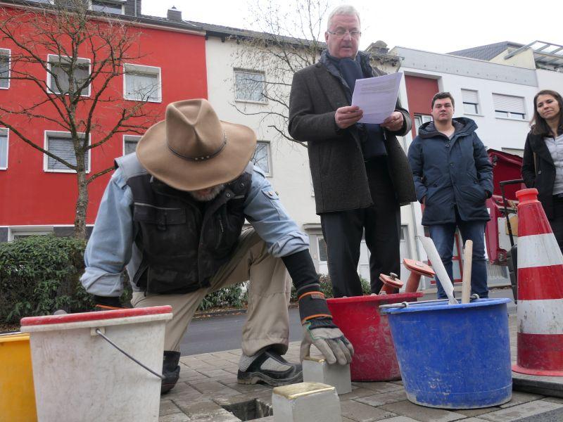 Drei neue Stolpersteine für Troisdorf