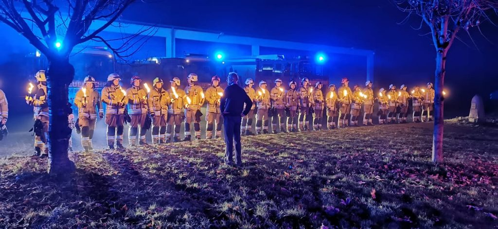 Feuerwehr verabschiedet Thomas Glatz