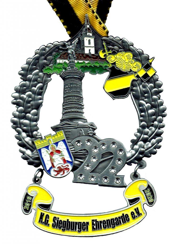 2 x11 Jahre Siegburger Ehrengarde – ein jecker Jubiläumsorden