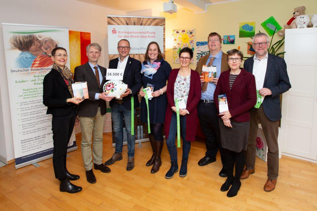 16.500 Euro für Ambulanten Kinder- und Jugendhospizdienst Rhein-Sieg gesammelt
