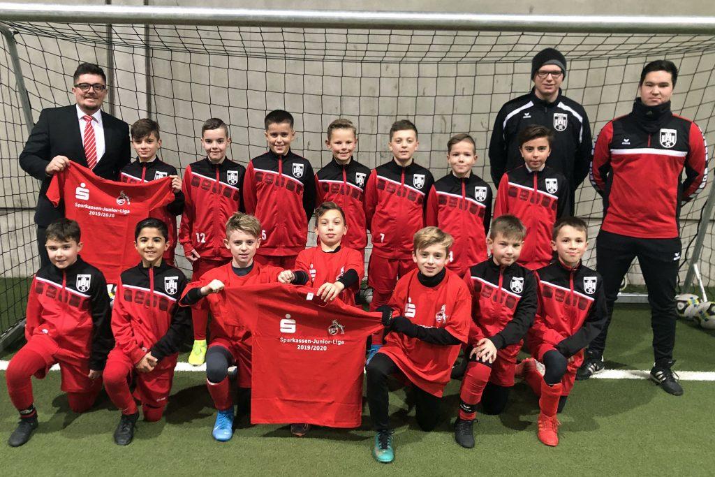 E-Jugend-Fußballer wollen ins Finalturnier der Sparkassen-Junior-Liga am Geißbockheim