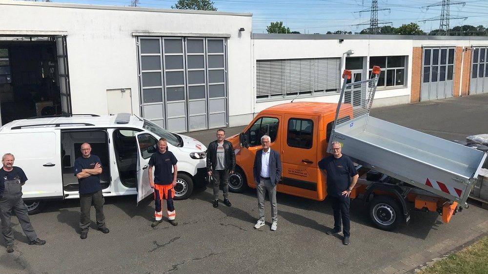 Neue Autos für den Bauhof