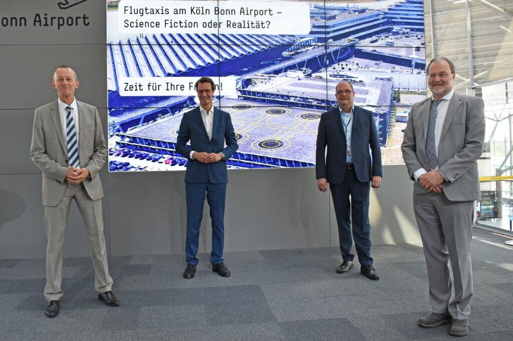 Köln/Bonn ist potenzieller Flugtaxi-Standort
