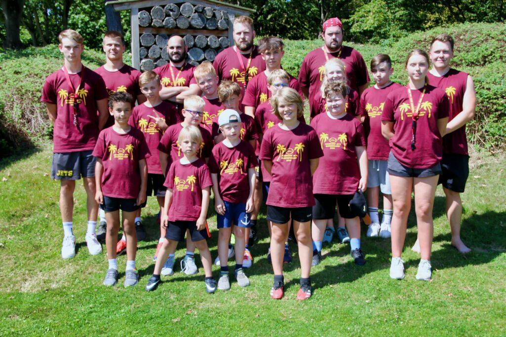 Erfolgreiches Football-Feriencamp