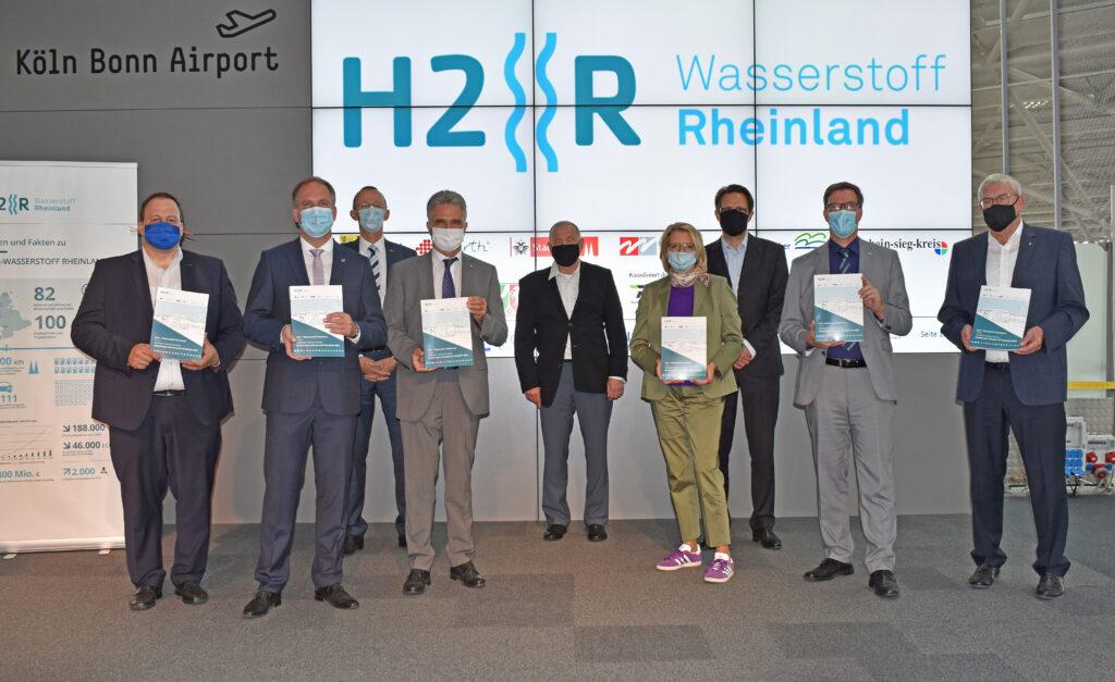 """""""H2R Wasserstoff Rheinland"""" präsentiert umfangreiche Pläne"""