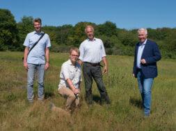 Pressetermin Artenschutzprojekt am 5. August 2020 in Rheinbach