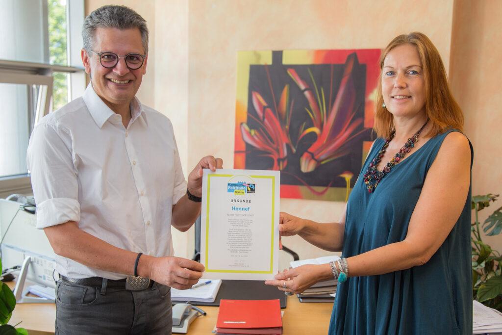 Hennef ist weiter Fairtrade-Town