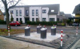 Unterflurcontainer Carl Diem Straße