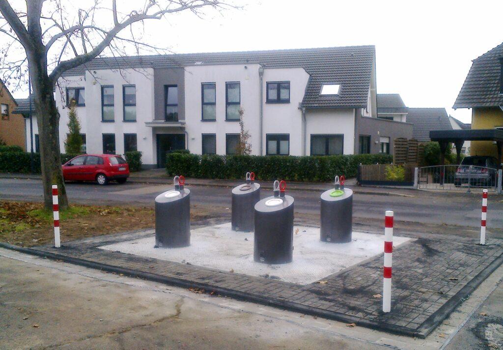 Weitere Unterflurcontainer in Troisdorf