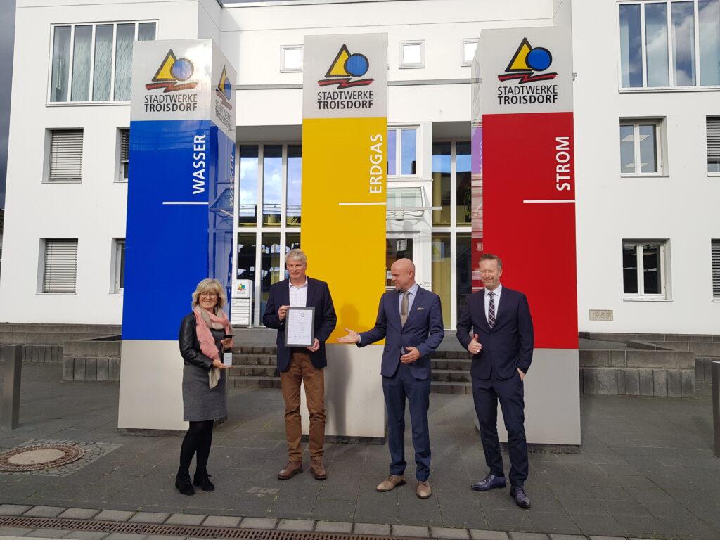 Stadtwerke Troisdorf gewinnen Energiewende-Award 2020