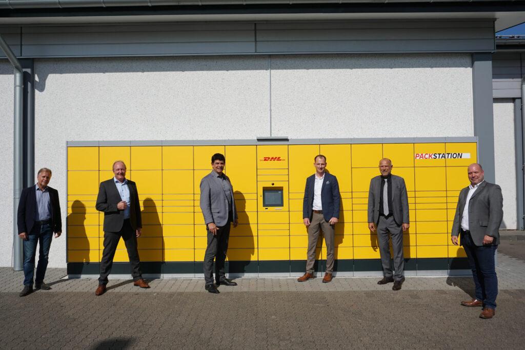 Erste DHL Packstation in Sankt Augustin-Buisdorf
