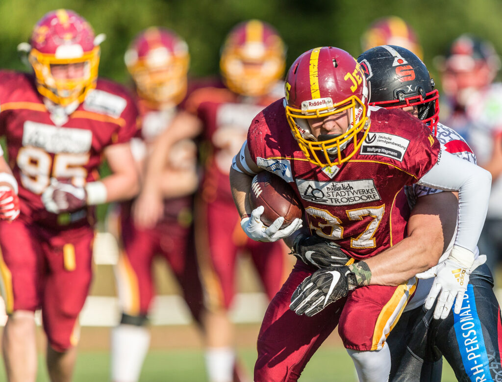 Football Try Out der Troisdorf Jets