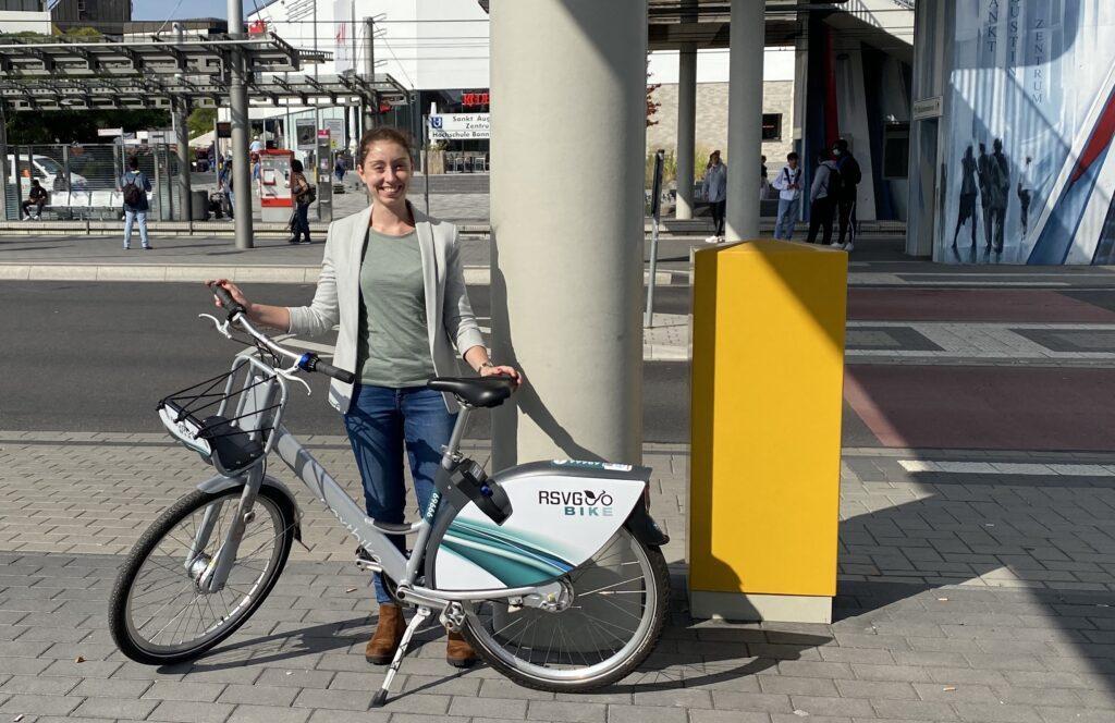 Fahrradverleihsystem in Sankt Augustin