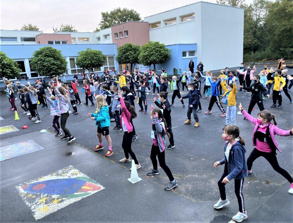 Mitgemacht bei Jugend trainiert für Olympia