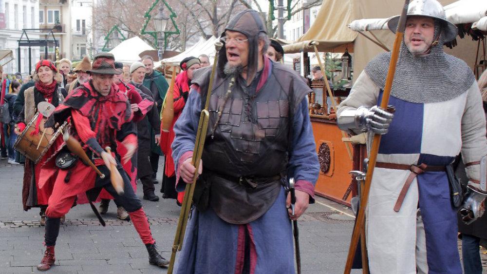 Mittelalterlicher Markt fällt aus