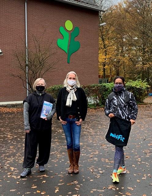 Waldschule Troisdorf nutzt die Lüftungszeit: miniFit air – 10 Minuten Energie tanken