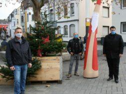 Troisdorf Weihnachtsdeko Fußgängerzone Biber Brozeit Kutter Fischerplatz Presse
