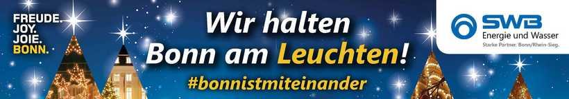 SWB hält Bonn am Leuchten – natürlich mit Ökostrom