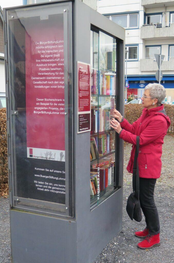 Offener Bücherschrank der BSL