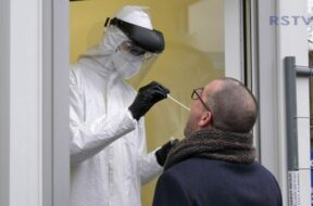 Drive-in für Corona-PCR Tests in Troisdorf eröffnet